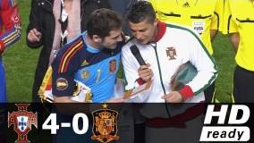 جام جهانی 2018/ دانلود خلاصه بازی گروهی/ پرتغال-اسپانیا