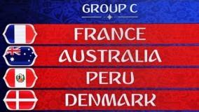جام جهانی 2018/ دانلود خلاصه بازی گروهی/ پرو-دانمارک