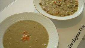 تهیه سوپ ماش