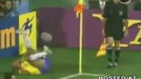 تمارض های خنده دار فوتبال | www.takgoal.com