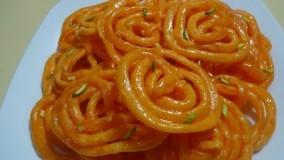 آشپزی ماه رمضان-تهیه جلبی  آسان(زولبیا )- شیرینی ماه رمضان