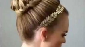 دانلود ویدئو مدل شینیون برای موهای کوتاه_مدل 7