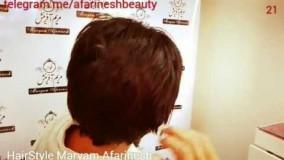 دانلود ویدئو مدل شینیون برای موهای کوتاه_مدل 6