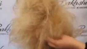 دانلود ویدئو مدل شینیون برای موهای کوتاه_مدل 5