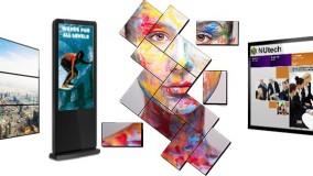 انواع مختلف دیجیتال ساینیج، ویدئووال، مانیتور صنعتی، OLED در نمایشگاه LG