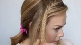 آموزش بافت مو زیبا و جالب