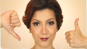 آرایش صورت مخصوص پوستهای چرب و منافذ باز