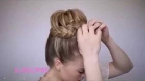 بافت مو مدل بسته