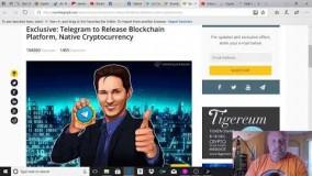 بلاک چین تلگرام و ارز دیجیتال