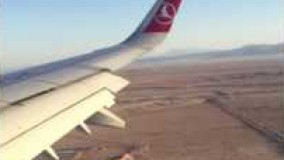 Turkish Airlines A321 Landing in Isfahan