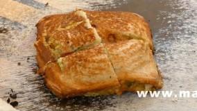 آشپزی آسان-تهیه ساندویچ بسیار لذیذ با ساندویچ ساز