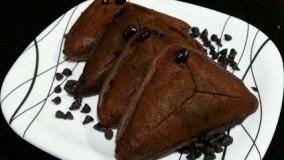 آشپزی مدرن-تهیه کیک شکلاتی در ساندویچ ساز