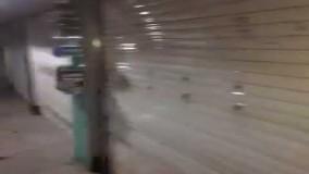 اعتصاب بازار تهران بازار علا الدین بسته شد24 اردیبهشت97