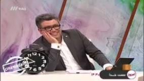 رضا رشیدپور بدون خداحافظی برنامه زنده «حالا خورشید» را ترک کرد