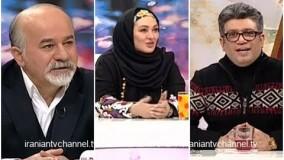 مصاحبه شنیدنی رضا رشیدپور با الهام حمیدی در برنامه زنده