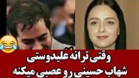 وقتی ترانه علیدوستی  شهاب حسینی رو عصبی میکنه