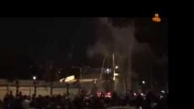ورود ظریف به تهران بعد از توافق ژنو در میان موج احساسات مردم