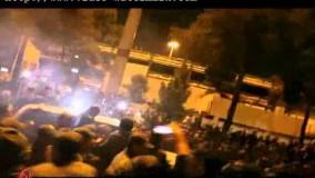 اسقبال مردمی از دکتر ظریف پس از بازگشت به ایران