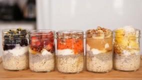 آشپزی مدرن-تهیه اوت میل با 5 طعم مختلف