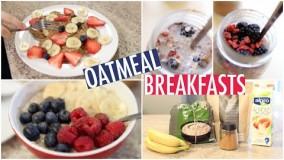 آشپزی مدرن-تهیه اوت میل برای صبحانه