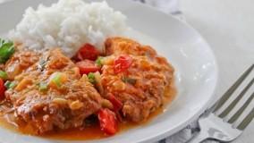 آشپزی ایرانی - آموزش درست کردن خوراک ماهی با برنج به سبک جنوبی