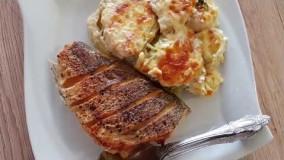 آشپزی ایرانی- طرز پخت ماهی بسیار ساده و راحت -ماهی قزل الا