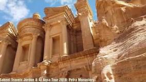 گزارشی از شهر شگفت انگیز پترا در اردن