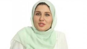 گلوریا هاردی سفیر برند لکسیون پاریس در ایران