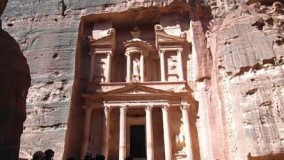 An Mysterious Ancient City in Petra, Jordon