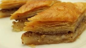 شیرینی پزی-تهیه باقلوای ترکی-دسر خوشمزه و آسان