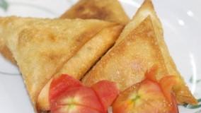 غذای رمضان-تهیه سمبوسه آسان-افطار خوشمزه