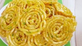 شیرینی رمضان-جلبی افغانی یا زولبیای ایرانی-دسر ماه رمضان