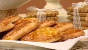 پخت نان- آموزش تهیه نان توتک