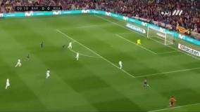 بارسلونا 2 رئال مادرید 2 خلاصه بازی با گزارش فارسی توسط عادل فردوسی پور