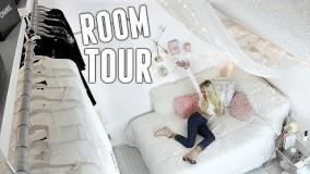 گشتی در دکوراسیون یک اتاق خواب دخترانه زیبا