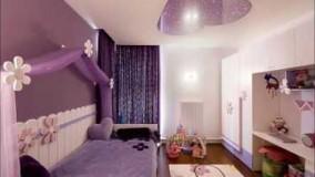 دکوراسیون اتاق خواب دخترانه بنفش-16-ژورنال دکوراسیون داخلی منزل