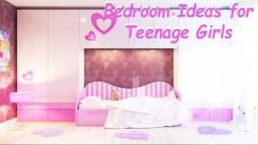 دکوراسیون اتاق خواب دخترانه مدرن 2