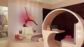 دکوراسیون اتاق خواب دخترانه-43-دکوراسیون اتاق خواب دخترانه فانتزی