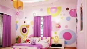 دکوراسیون اتاق خواب دخترانه بنفش-15-ژورنال دکوراسیون داخلی منزل