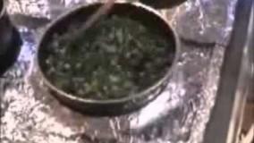 آشپزی آسان- قورمه سبزی بدون گوشت در پنج دقیقه و سریع