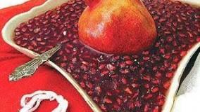 آشپزی ایرانی-ترشي انار
