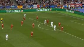 گل گرت بیل رئال مادرید لیورپول