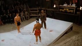 مبارزه پایانی فرانکی در فیلم رینگ خونین