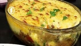 آموزش آشپزی-تهیه خوراک گوشت قلقلی و سیب زمینی