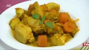 آشپزی ساده- آبگوشت مرغ رژیمی