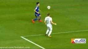 بهترین لحظات فوق ستاره فوتبال ایران؛ سردار آزمون