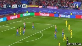 گل سردار آزمون نابغه ی ایرانی به اتلتیکومادرید sardar azmon av Atleticko Madrid
