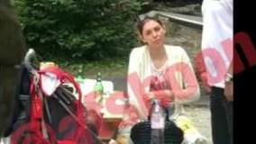 فيلم مشروب خوري آزاده نامداري در سوييس