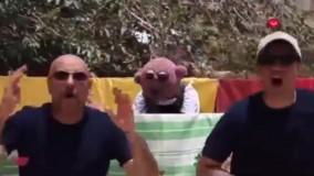 آهنگ بندری جام جهانی روسیه با حضور جناب خان و محمد بحرانی در کنار هم