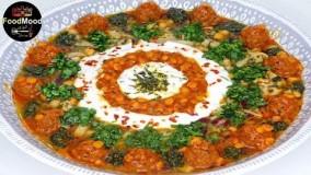 غذای رمضان-طرز تهیه آش - آش رشته
